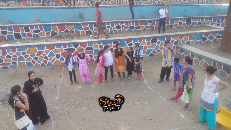 Girls Play Kabaddi