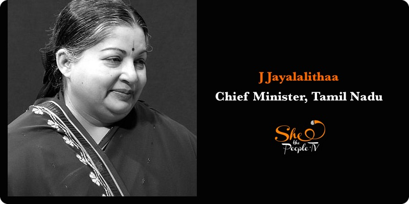 India's Female Chief Ministers Jayalalitha