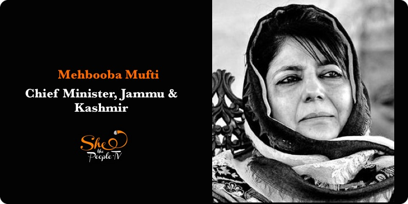 India's Female Chief Ministers Mehbooba Mufti