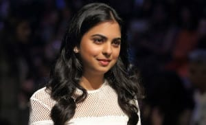Isha Ambani, the young businesswoman
