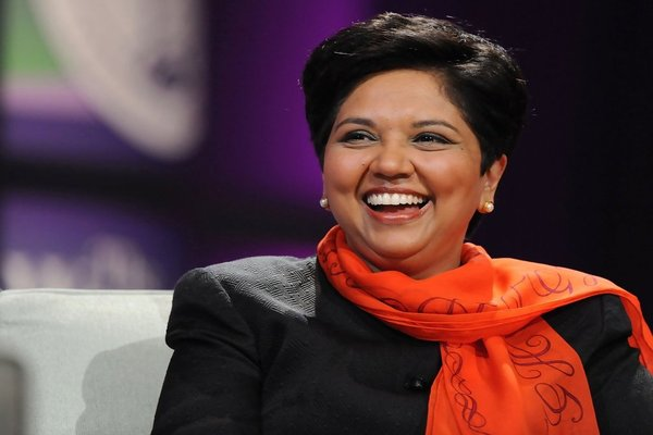 Indra Nooyi made it big in business with family support