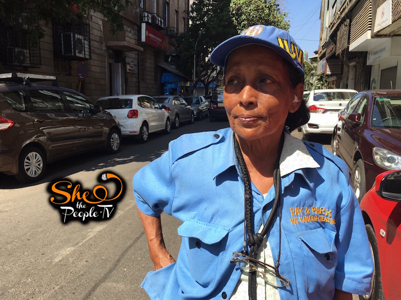 Good Stories Of India: Norma Is Bombay's Only Female Parking Attendant