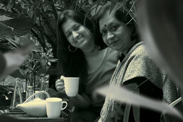 Rupali Samat with mother Neelam Samat, creating Choc Le'