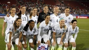 US womens soccer players