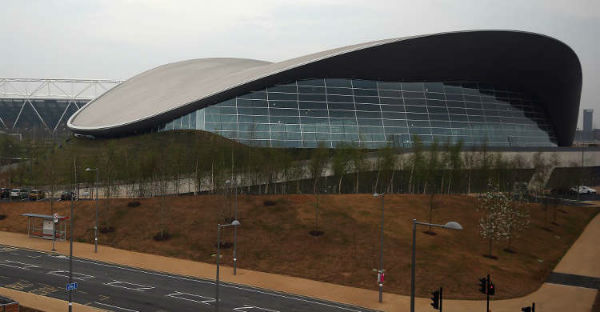The London Olympic Aquatic Centre (Pic By BBC)