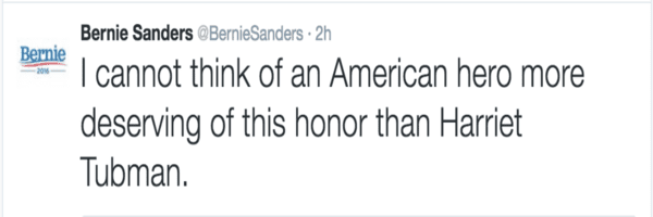 Bernie Sanders, who lost to Hilary at the Dem primaries in New York