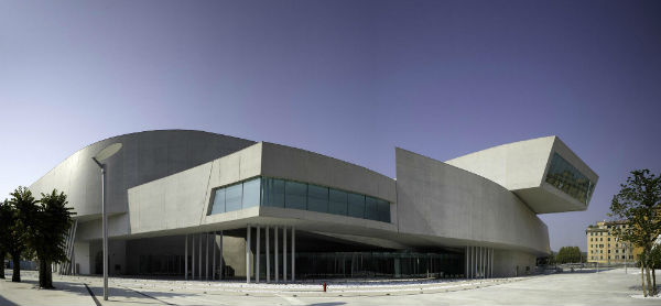 Zaha Hadid - MAXXI: Italian National Museum of 21st Century Arts in Rome, Italy