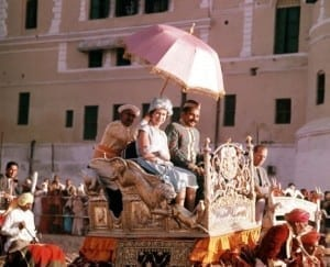 When the Queen visited india the first time