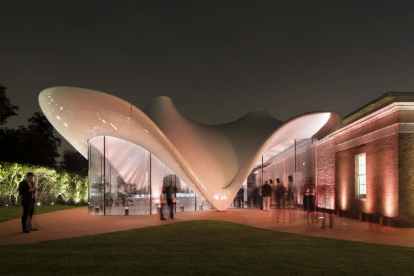 Serpentine Sackler Gallery in London, England (Pic By E-architect.co.uk)