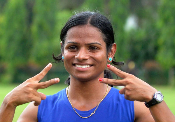 Dutee Chand receive Rs 1.5 Cr