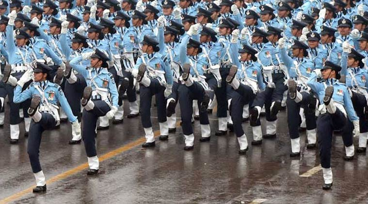 Air Force WOmen by Indian Express