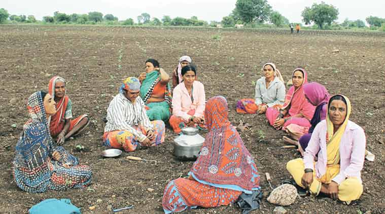 India Women Drought in Beed by Indian Express