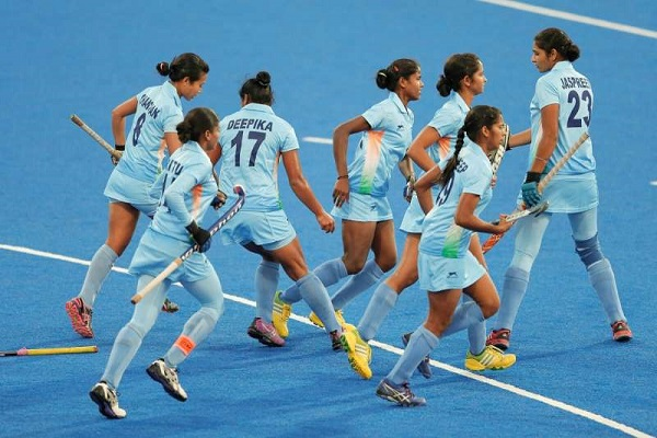 Indian womne's hockey team