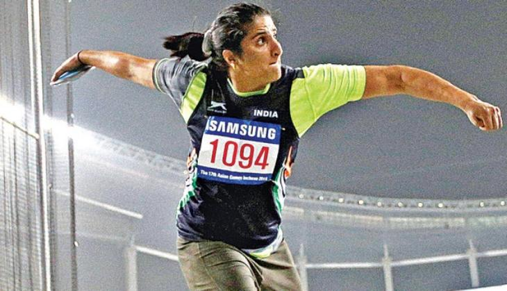 Discuss thrower Seema Punia