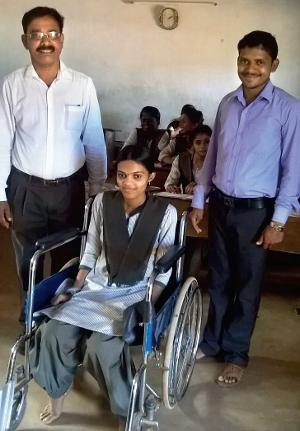 18 year old Chaithra excels in PU finals