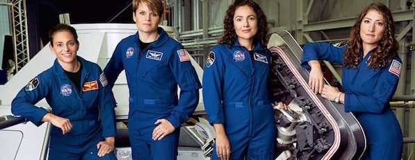 NASA women astronauts