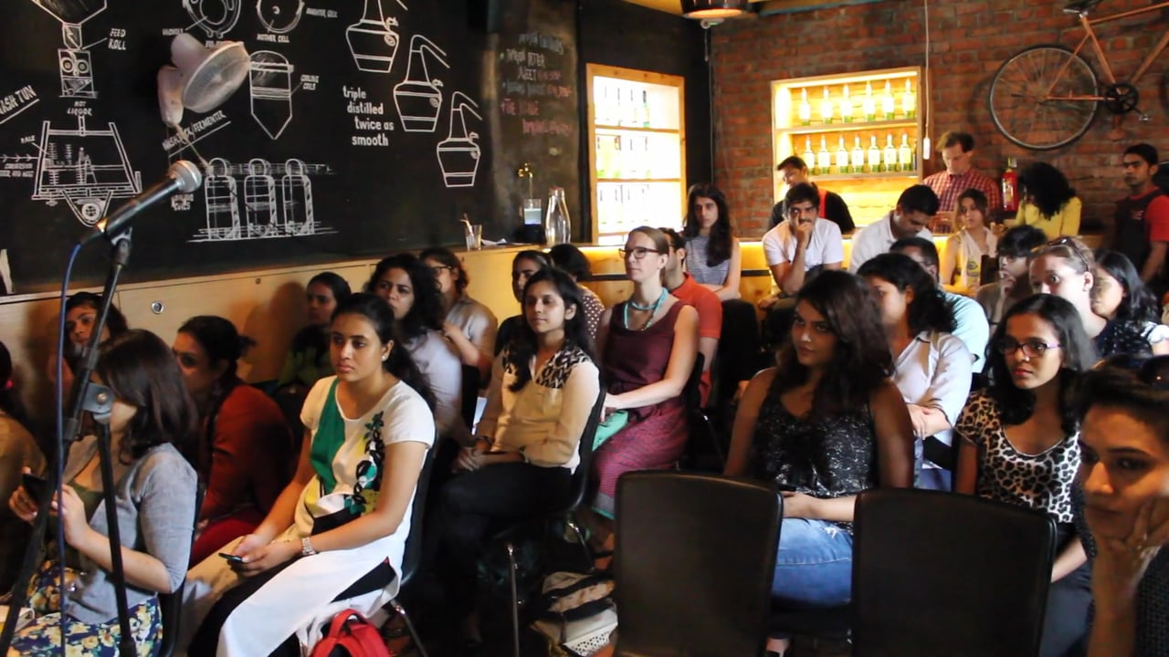 Audience at Feminist Rani