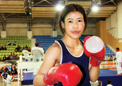 Mary Kom's First accolade in her Maiden tournament