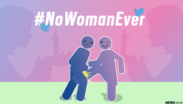 No Woman Ever campaign on Twitter