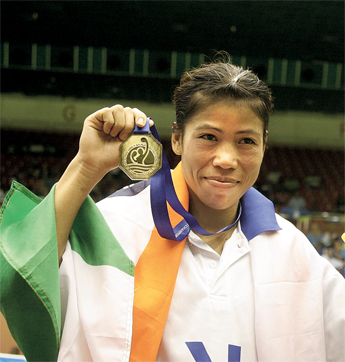 Mary Kom's First World Championship Gold Medal