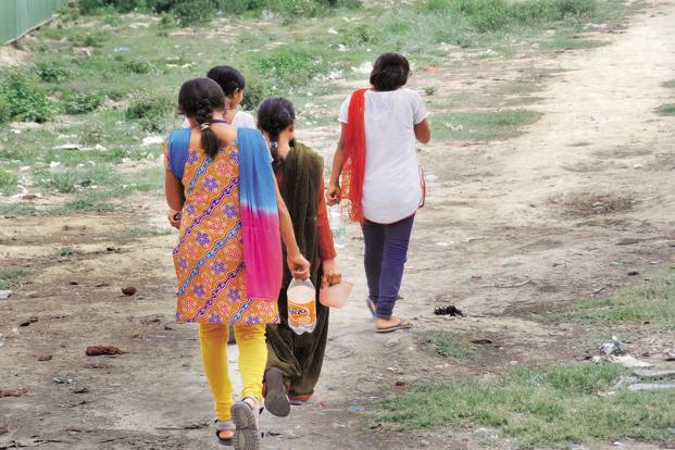 Problems faced by women in open defecation