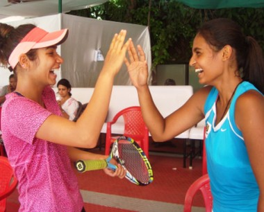 simran k(left) Varunya C(right)