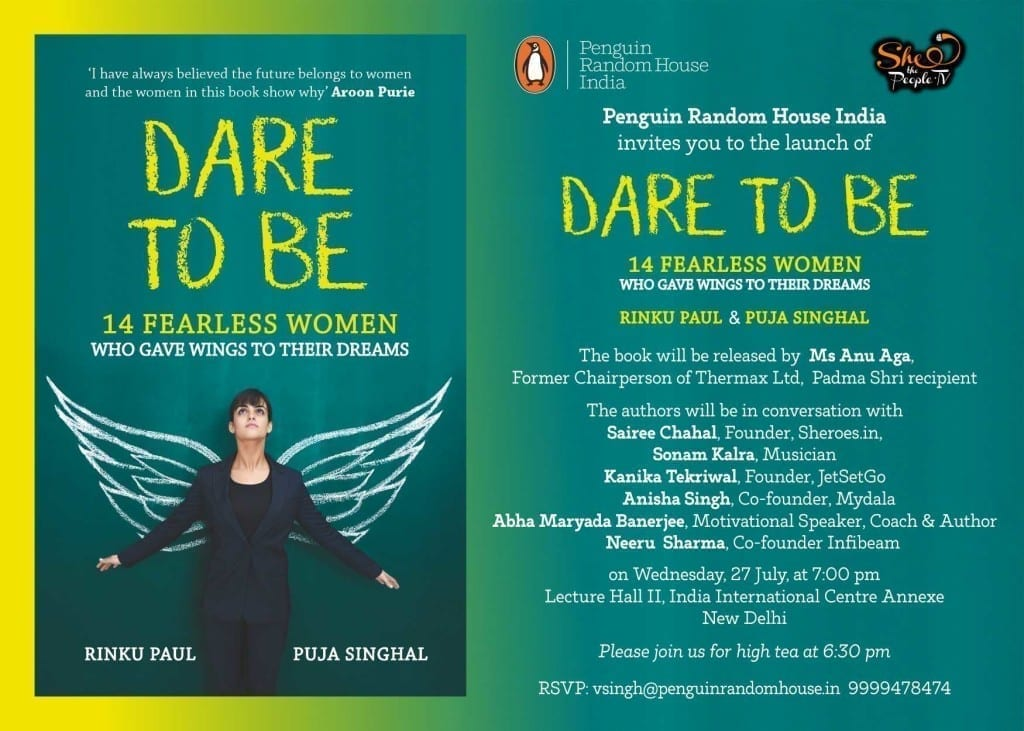 Dare to Be Book Entrepreneurs