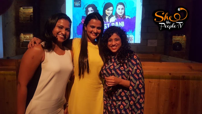Feminist Rani With Malishka and Amruda