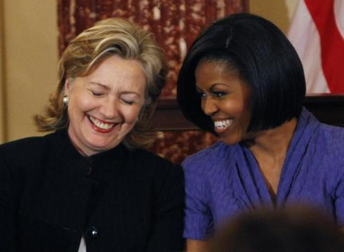 Michelle Obama supports Hilary Clinton