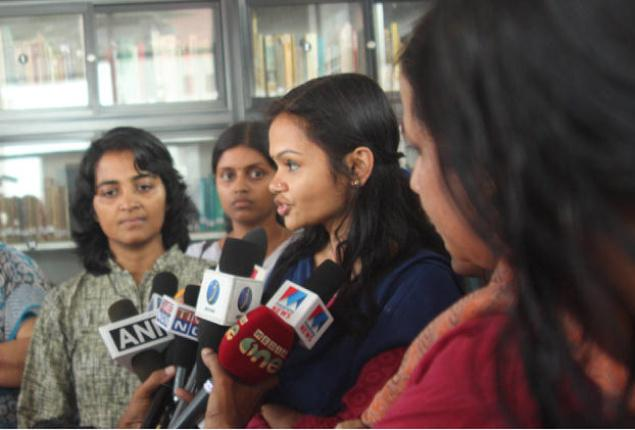 Indian women in the media