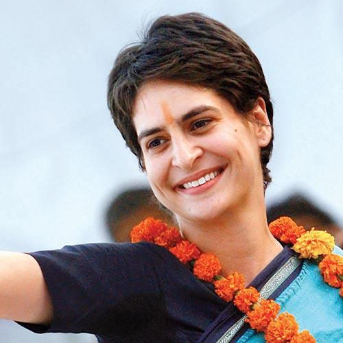 Priyanka Gandhi : Pic Credit by The Hindu