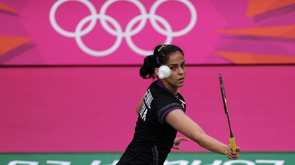 Saina Nehwal at Beijing olympics