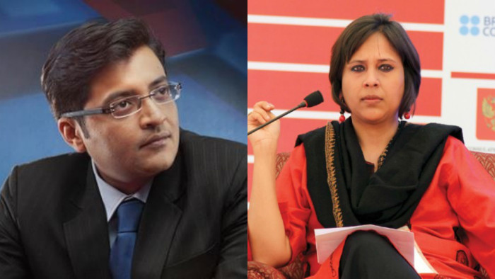 Barkha takes on Arnab