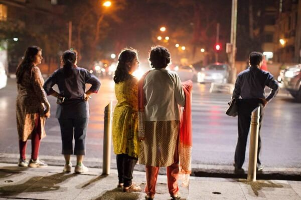 Indian working women at nights