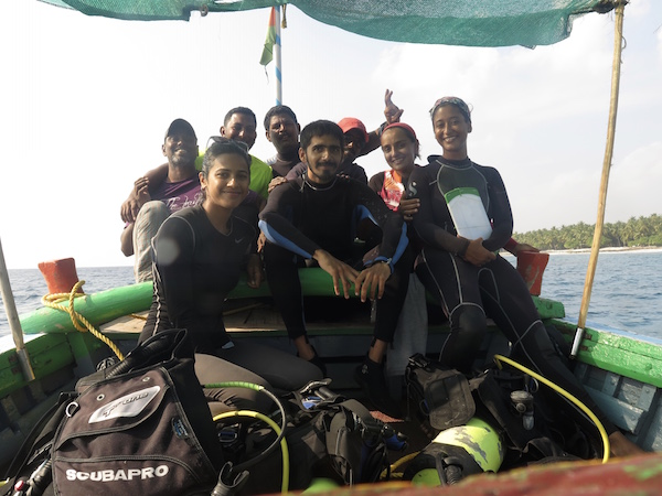 Diving adventures - Shreya Yadav