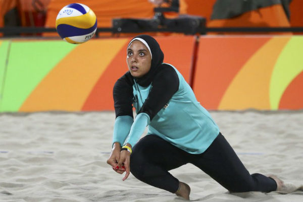 Egyptian women's volleball team