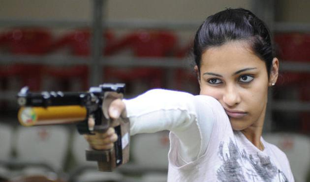 Heena Sidhu Shoots World Record