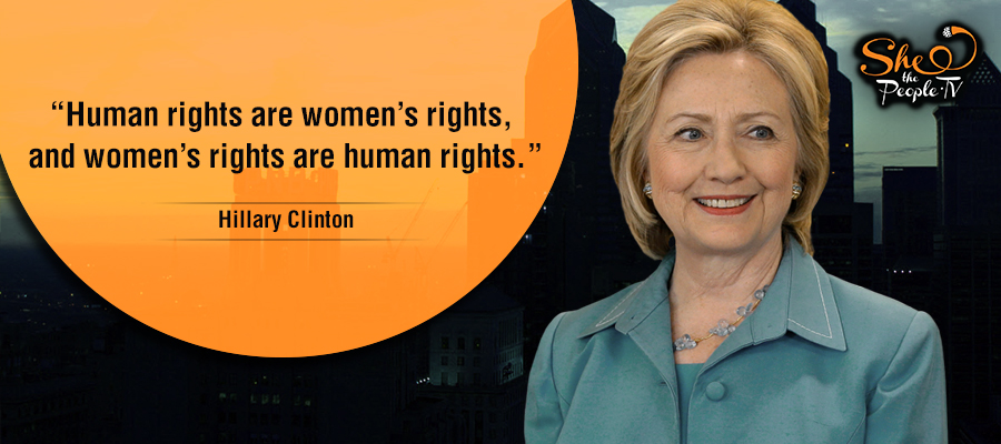 Hillary Clinton On She The People 2