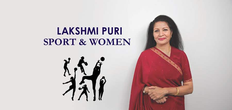 Lakshmi Puri on Sport
