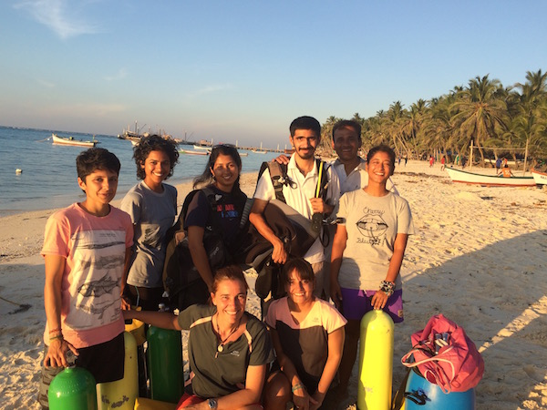Oceans and Coasts team in Lakshadweep