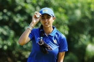 Aditi Ashok women's open