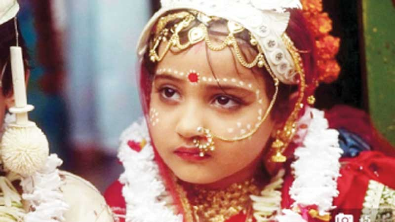 Rajasthan BJP candidate child marriages