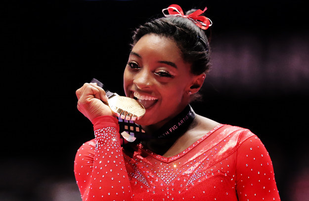 Simone Biles 15th career gold
