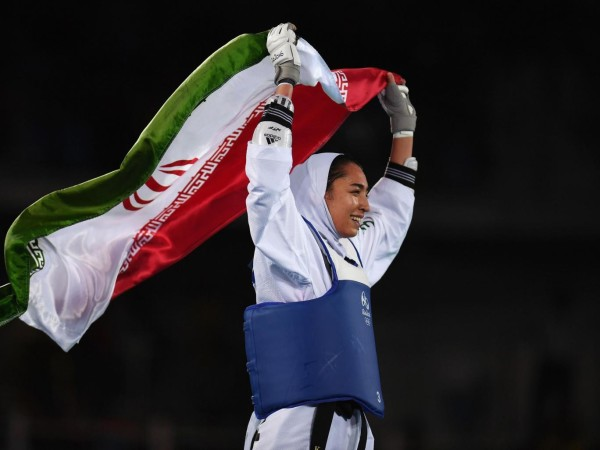 Kimia Alizadeh, first Iranian woman to win at Olympics