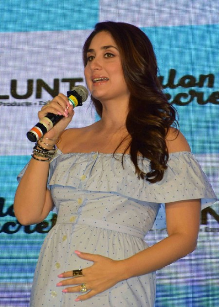 Kareena at a pres meet