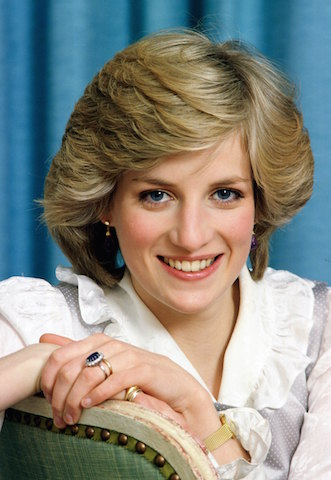 Diana, Princess of Wales at home in Kensington Palace. Picture Credit: closerweekly.com