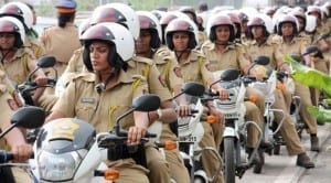 Hyderabad police women wheels