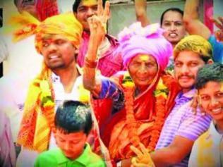 Gangubai Bhambure, 94-year-old elected as sarpanch in Pune village