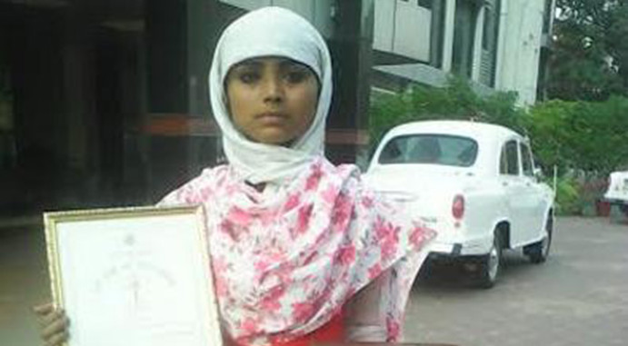 Bravery awardee Nazia's appeal to CM Akhilesh Yadav to save her from harassers