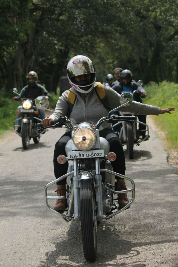 Kanchana Ganga - a group of women bikers in Mysuru